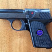 Photo Pistole der Marke Walther