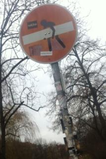 Foto Straßenschild