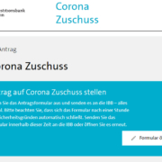 Antrag Corona Zuschuss