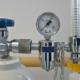 Bild einer Sauerstoffapparatur. Softair benötigt Druckluft-